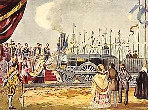 Inauguração_do_caminho_de_ferro