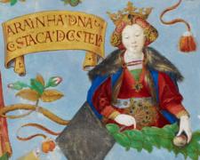 D._Constança_de_Portugal,_Rainha_Consorte_de_Castela_-_The_Portuguese_Genealogy_(Genealogia_dos_Reis_de_Portugal)